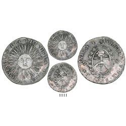 Argentina (River Plate Provinces), Potosi mint, 2 soles, 1815FL, rare.