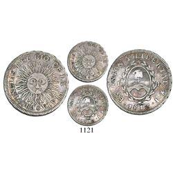 Argentina (River Plate Provinces), Potosi mint, 1 real, 1813J.