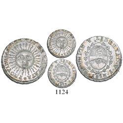 Argentina (River Plate Provinces), Potosi mint, 1/2 real, 1813J.