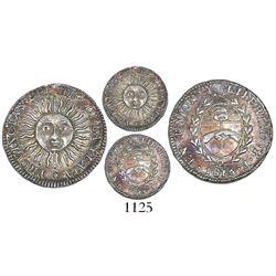 Argentina (River Plate Provinces), Potosi mint, 1/2 real, 1815F.