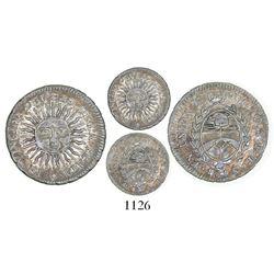 Argentina (River Plate Provinces), Potosi mint, 1/2 sol, 1815FL.