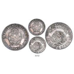 La Rioja, Argentina, 2 reales, 1843B.