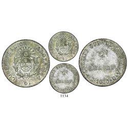 La Rioja, Argentina (CREDITO PUB.), 2 reales, 1860B.