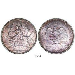 "Mexico, 1 peso, 1910, ""Caballito."""