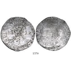 Brabant, Spanish Netherlands (Antwerp mint), patagon, Philip IV, 1622.