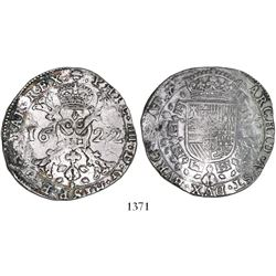 Brabant, Spanish Netherlands (Brussels mint), patagon, Philip IV, 1622.