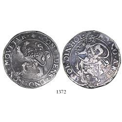 """Holland, Netherlands, """"lion"""" daalder, 1576."""