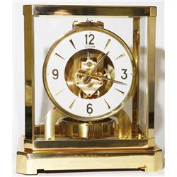 Vintage 1964 Jaeger LeCoultre ATMOS Mantle Clock RUNS