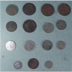 3 Antique Brazil Coins