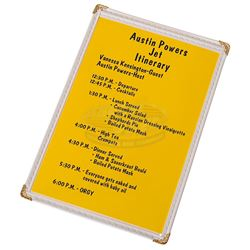 Austin Powers: Intl Man of Mystery - Austin Powers' Jet Itinerary (Mike Myers)