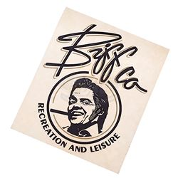Back To The Future 2 - Biffco Sticker