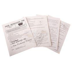Batman - Original Dark Detective Comic Script with Handwritten Notes & Sketches
