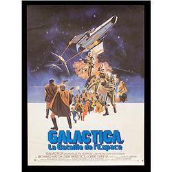 Battlestar Galactica (1978) (TV) - Original French Release Poster
