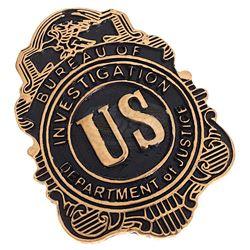 Boardwalk Empire (TV) - Eliot Ness' FBI Badge (Jim True-Frost)
