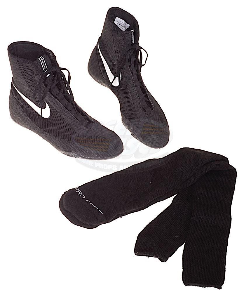Creed Adonis Johnson's Boxing Shoes and Socks (Michael B. Jordan)