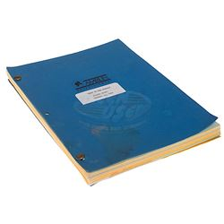 Back To The Future - Fourth Draft Production Script