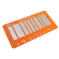 Back To The Future 2 - Barcode License Plate