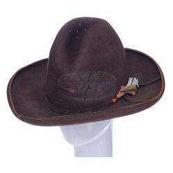 Back To The Future 3 - Doc's Western Hat with Bullet Hole (Christopher Lloyd)