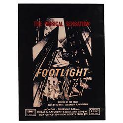 "Batman - Prop Monarch Theater Poster ""Footlight Frenzy"""