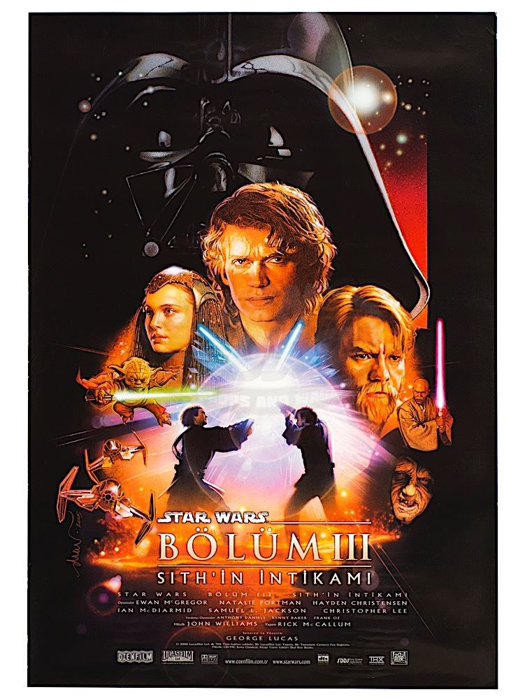 Star Wars Episode Iii Revenge Of The Sith Original Release Turkish One Sheet Poster