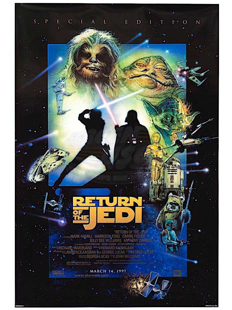Return of the Jedi Star Wars: Episode VI 1983 movie poster print 12