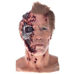 Terminator 2: Judgment Day - T-800 Effects Head