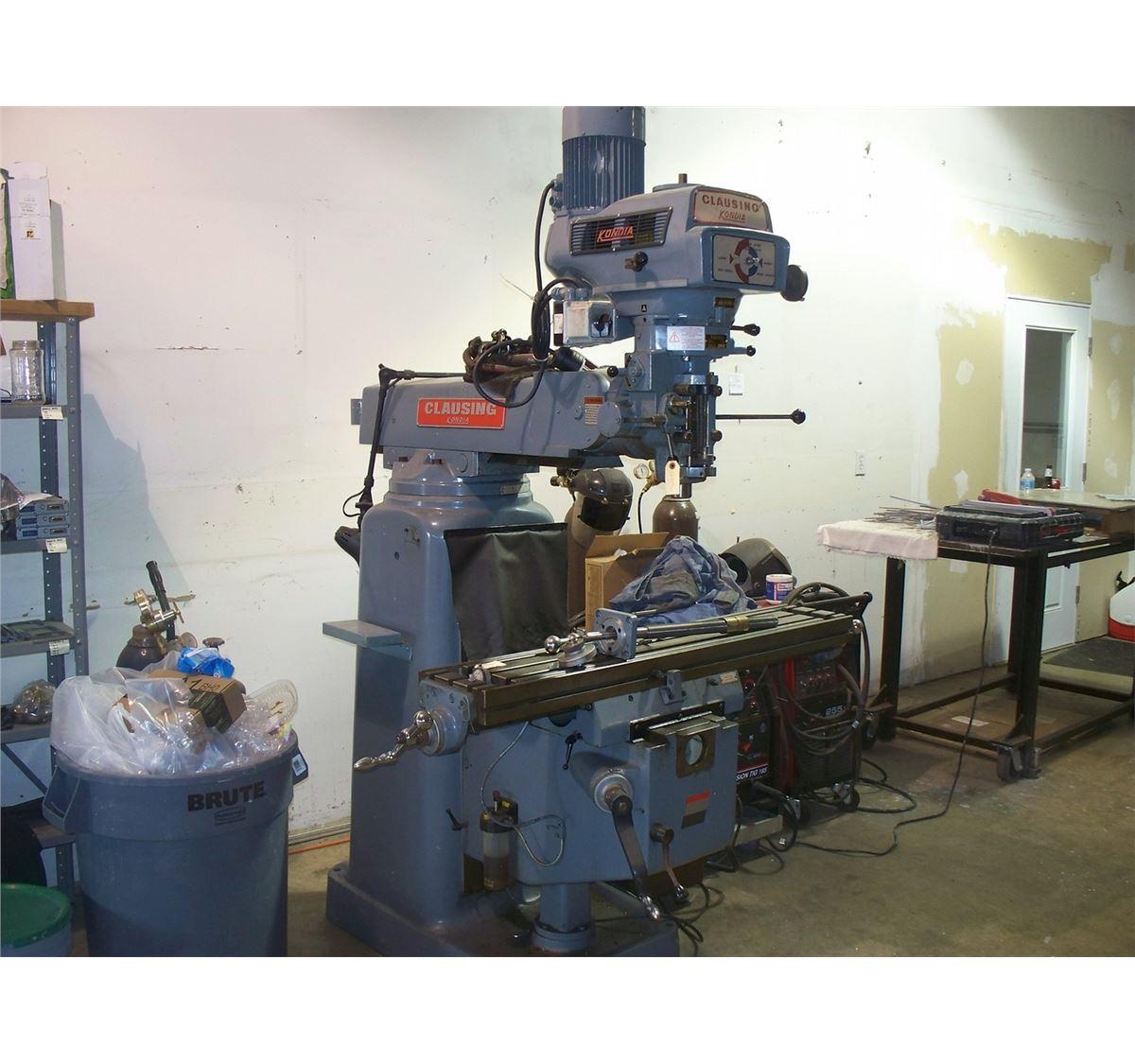 Clausing Kondia FV-1 Vertical Mill