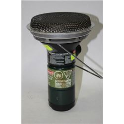 PORTABLE CATALYTIC COLEMAN HEATER WITH CYLINDER