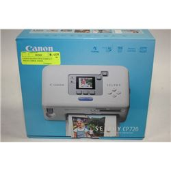 CANON SELPHY CP720 COMPACT PHOTO COPIER, PAPER