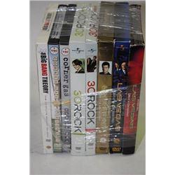 BUNDLE OF VARIOUS TV SERIES DVD MOVIES