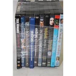 BUNDLE OF 10 ASSORTED DVD MOVIES