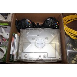 Box w/ LTD. ED. Clear Xbox w/ Cords, 2