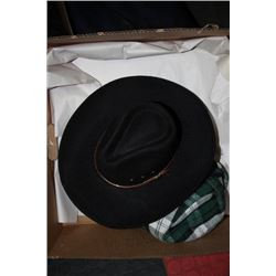 BOX W ONE  PIGALLE AND ONE CORONA COWBOY HAT