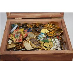 BOX OF 150 COLLECTOR PINS