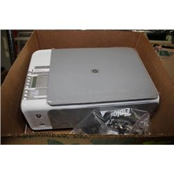 BOX WITH HP ALL-IN-ONE PRINTER/SCANNER/COPIER