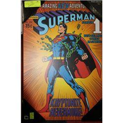 SUPERMAN PLAQUE