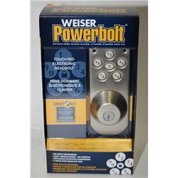 WEISER POWERBOLT TOUCH PAD ELECTRONIC
