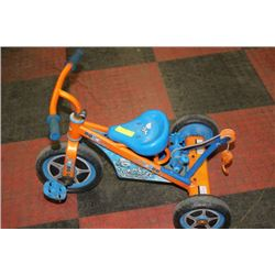 TOW-MATER KIDS TRIKE WITH TOWING ROPE