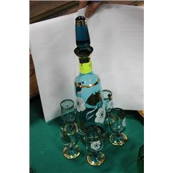 ESTATE DECANTER SET (LIGHT BLUE)