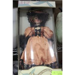 "TIMELESS TREASURES 18"" PORCELAIN DOLL"