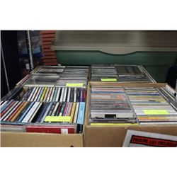 BOX OF CD'S SOLD X4