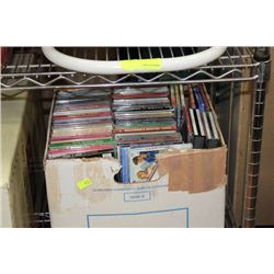 LARGE BOX OF NEW CD'S