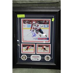 AUTOGRAPHED ALEX OVECHKIN HOCKEY PICTURE