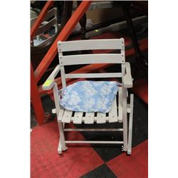 CHILDRENS COLLAPSIBLE ROCKING CHAIR