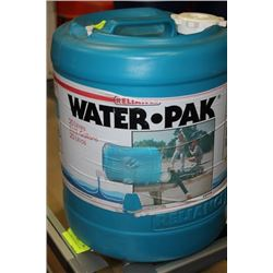 GREEN 20 LITRE WATER PACK X2