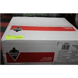 BOX OF 75 TOUGH GUY GARBAGE BAGS