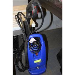 POWERWASHER - 1500PSI - BLUE - WORKING