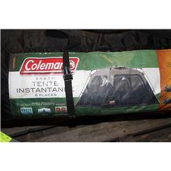 COLEMAN 6-MAN TENT - 10' x 9'
