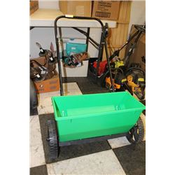 GREEN FERTILIZER SPREADER