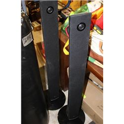 PAIR OF LG TOWER SPEAKERS